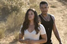 Gina Rodríguez (GLORIA) and  Ismael Cruz (LINO) star in MISS BALA