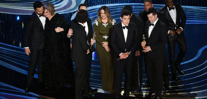 Spider-Man: Into the Spider-Verse takes home an Oscar!
